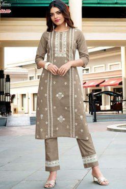 Ladies Flavour Rasam Kurti with Pant Wholesale Catalog 6 Pcs