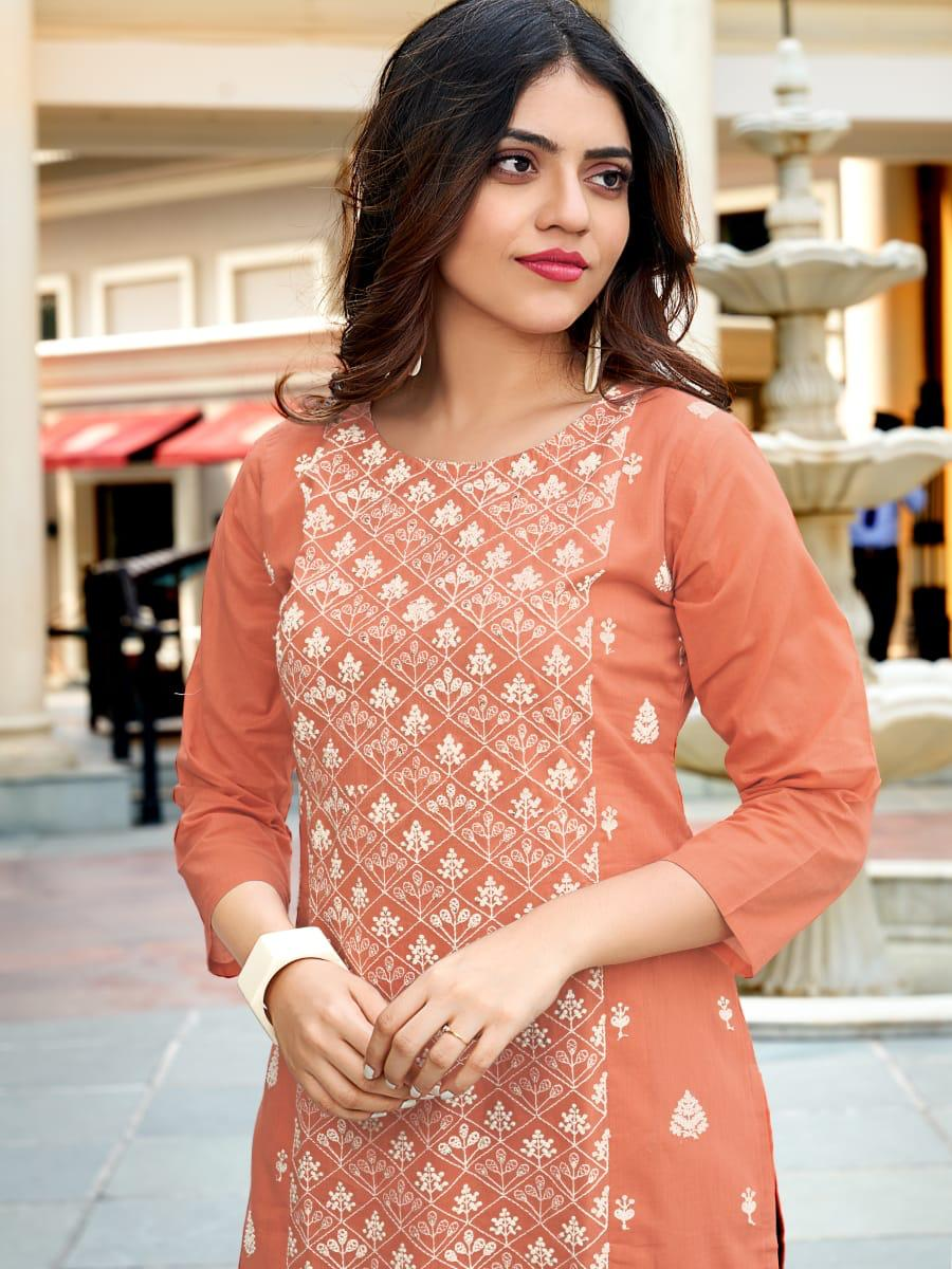 Ladies Flavour Rasam Kurti with Pant Wholesale Catalog 6 Pcs 3 - Ladies Flavour Rasam Kurti with Pant Wholesale Catalog 6 Pcs