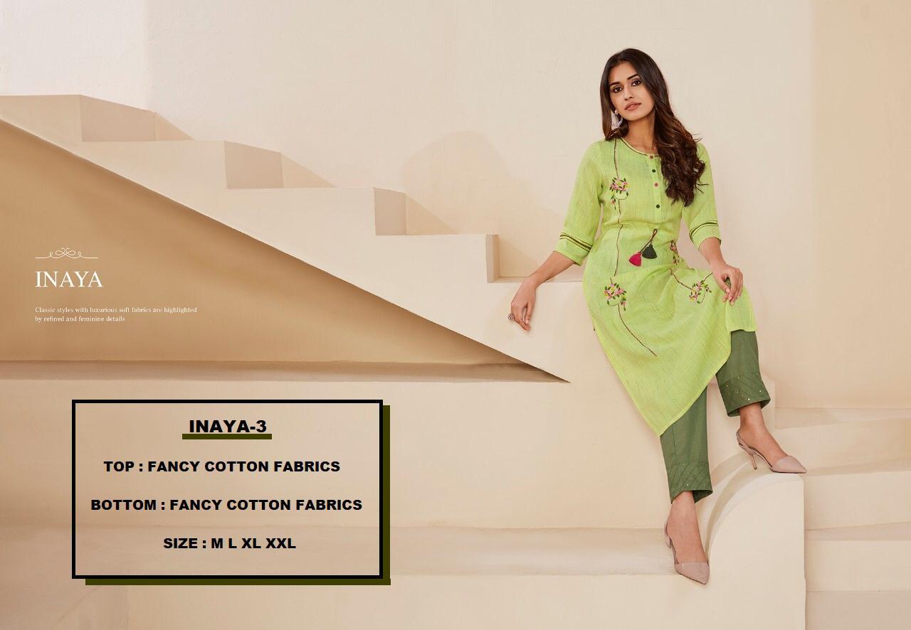 Lt Fabrics Nitya Inaya vol 3 Kurti with Palazzo Wholesale Catalog 8 Pcs 18 - Lt Fabrics Nitya Inaya vol 3 Kurti with Palazzo Wholesale Catalog 8 Pcs