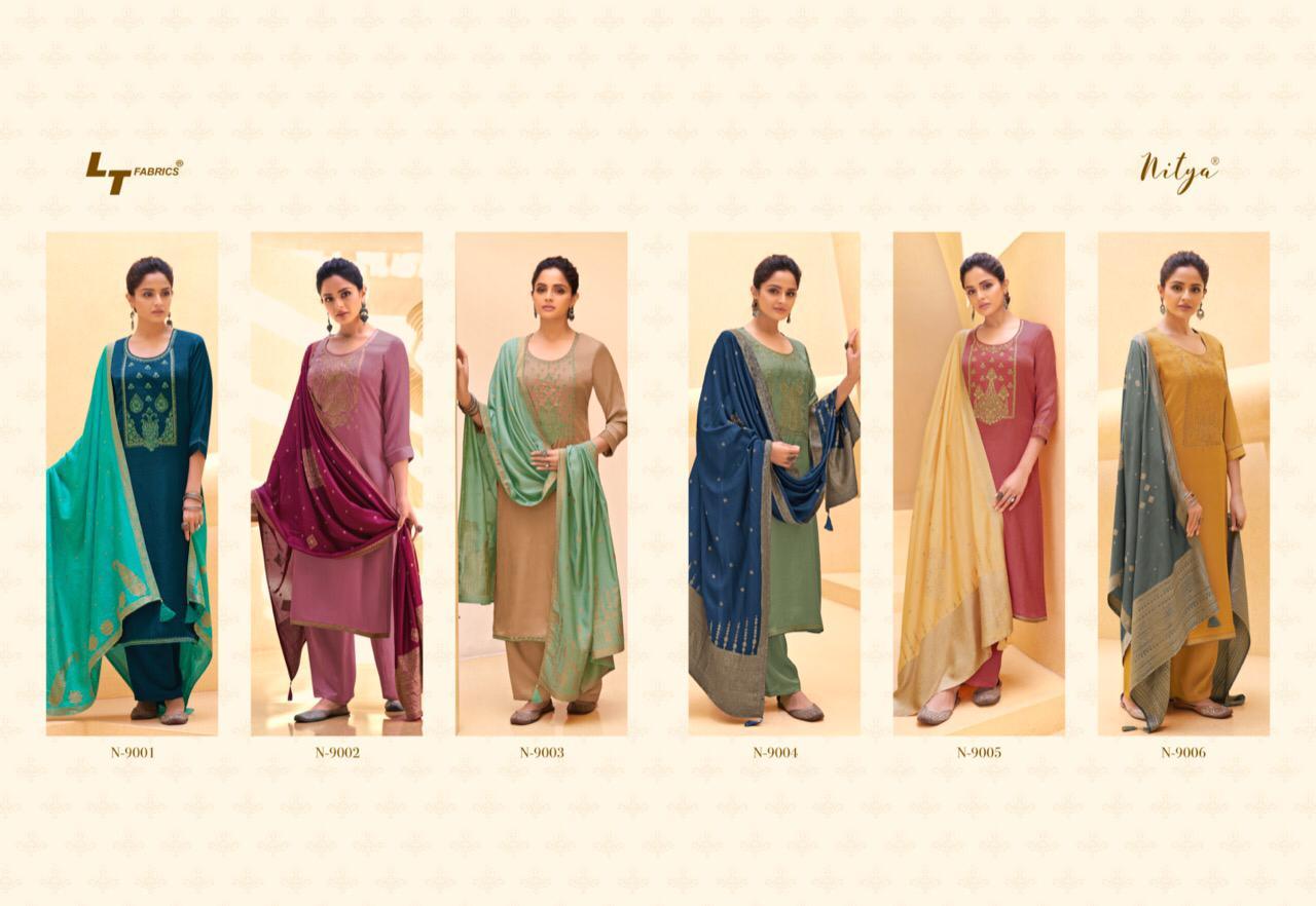 Lt Fabrics Nitya Naaz Salwar Suit Wholesale Catalog 6 Pcs 11 - Lt Fabrics Nitya Naaz Salwar Suit Wholesale Catalog 6 Pcs