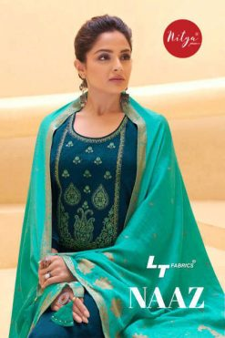 Lt Fabrics Nitya Naaz Salwar Suit Wholesale Catalog 6 Pcs