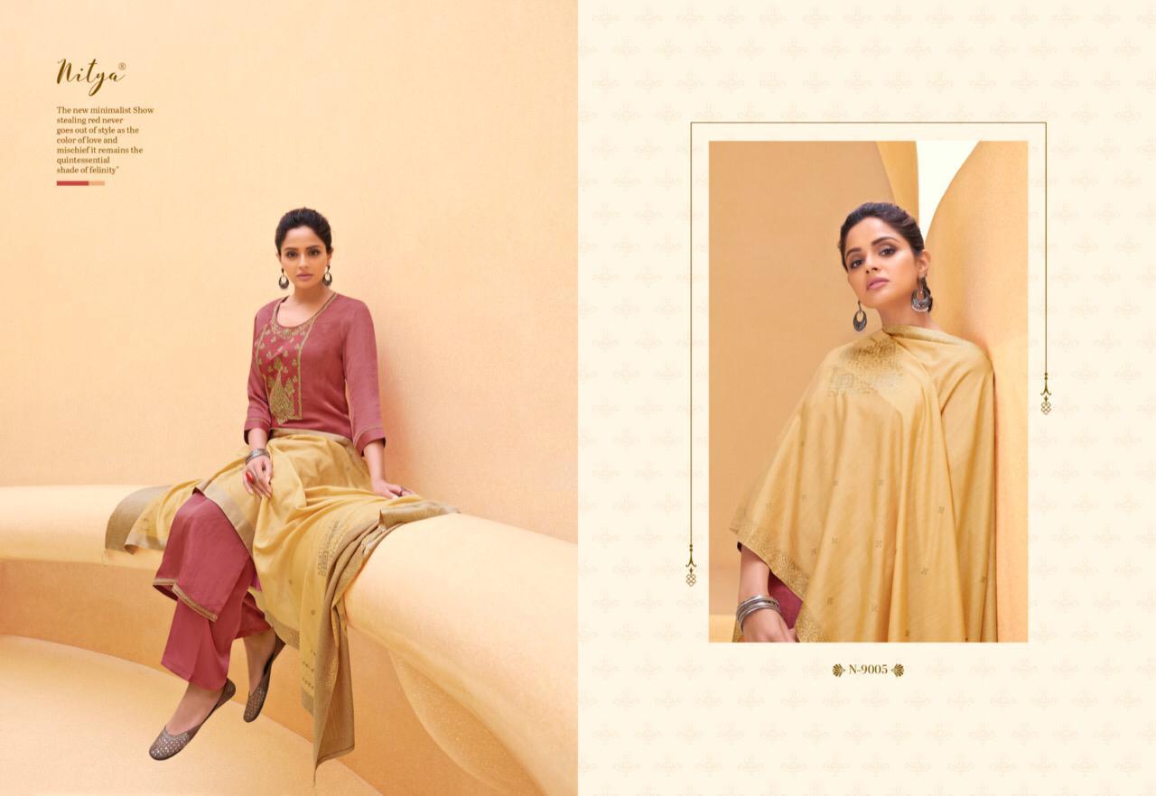 Lt Fabrics Nitya Naaz Salwar Suit Wholesale Catalog 6 Pcs 4 - Lt Fabrics Nitya Naaz Salwar Suit Wholesale Catalog 6 Pcs
