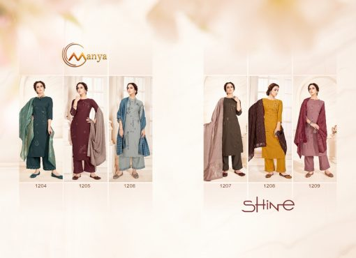 Manya Shine Kurti with Dupatta Bottom Wholesale Catalog 6 Pcs 6 510x370 - Manya Shine Kurti with Dupatta Bottom Wholesale Catalog 6 Pcs