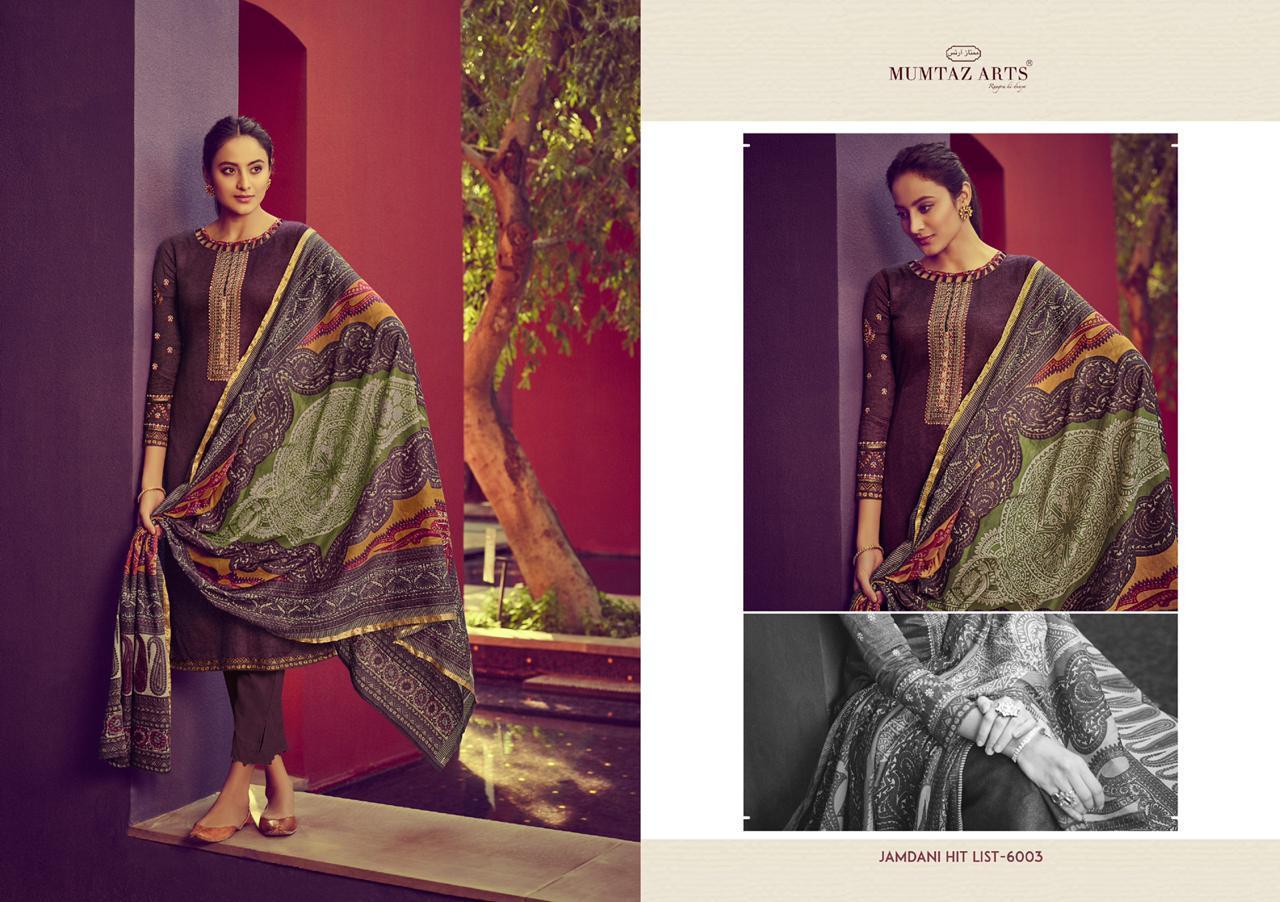 Mumtaz Arts Jamdani Hit List Salwar Suit Wholesale Catalog 7 Pcs 11 - Mumtaz Arts Jamdani Hit List Salwar Suit Wholesale Catalog 7 Pcs