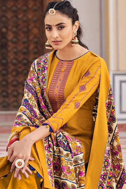 Mumtaz Arts Jamdani Hit List Salwar Suit Wholesale Catalog 7 Pcs