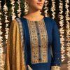 Mumtaz Arts Jash E Bandhani Salwar Suit Wholesale Catalog 10 Pcs