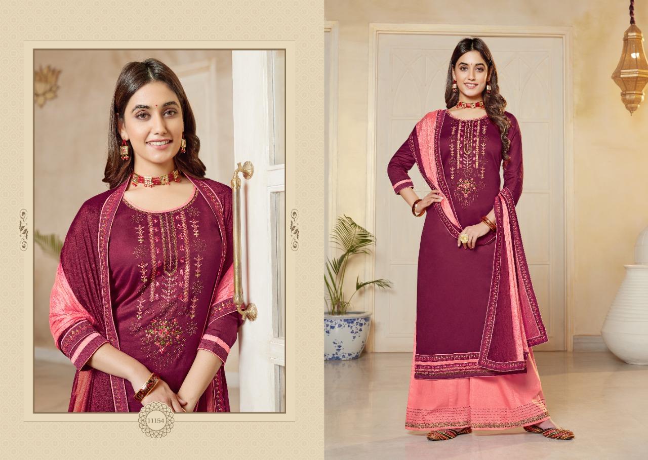 Panch Ratna Poshak by Kessi Salwar Suit Wholesale Catalog 5 Pcs 5 - Panch Ratna Poshak by Kessi Salwar Suit Wholesale Catalog 5 Pcs