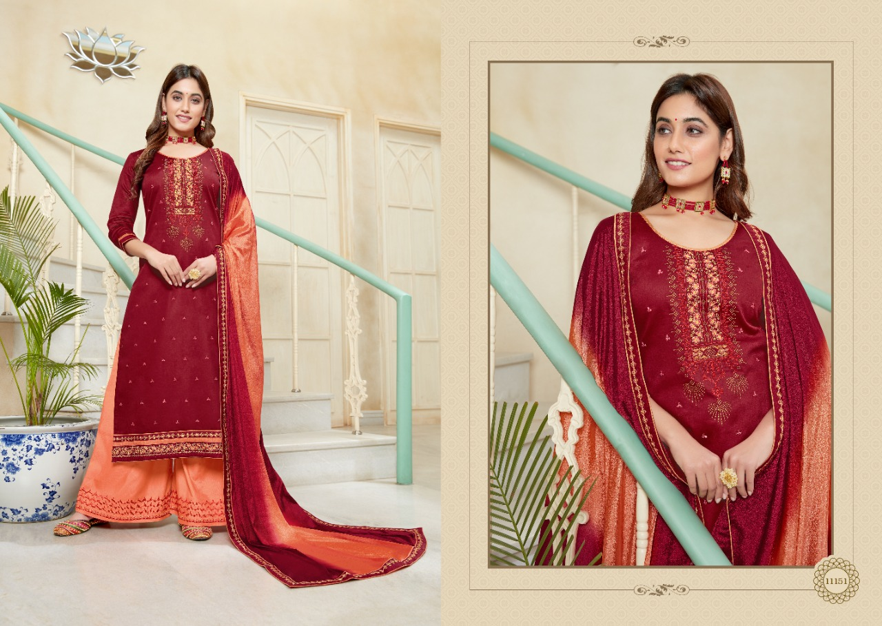 Panch Ratna Poshak by Kessi Salwar Suit Wholesale Catalog 5 Pcs 8 - Panch Ratna Poshak by Kessi Salwar Suit Wholesale Catalog 5 Pcs