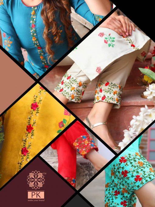 Pk Fashion Fantasy Vol 1 Kurti with Pant Wholesale Catalog 5 Pcs 1 510x680 - Pk Fashion Fantasy Vol 1 Kurti with Pant Wholesale Catalog 5 Pcs