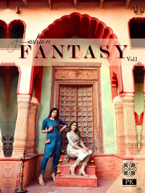 Pk Fashion Fantasy Vol 1 Kurti with Pant Wholesale Catalog 5 Pcs 5 510x680 - Pk Fashion Fantasy Vol 1 Kurti with Pant Wholesale Catalog 5 Pcs