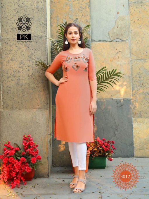 Pk Fashion Rainbow Vol 3 Kurti Wholesale Catalog 21 Pcs 13 510x680 - Pk Fashion Rainbow Vol 3 Kurti Wholesale Catalog 21 Pcs