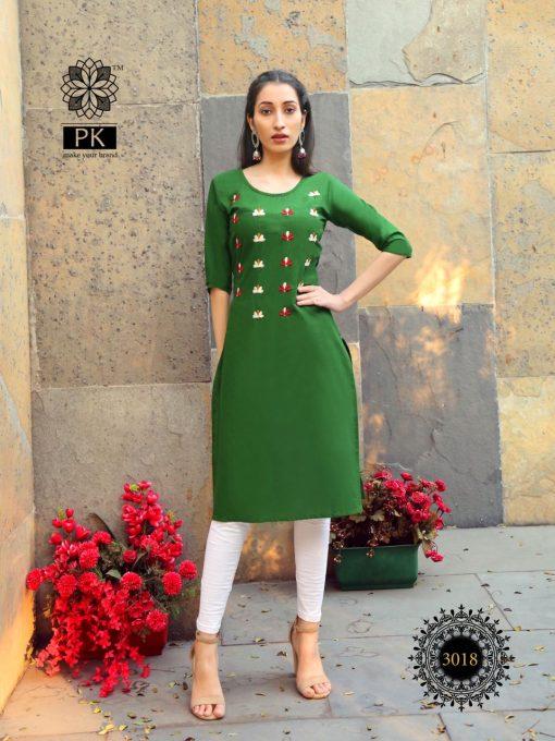 Pk Fashion Rainbow Vol 3 Kurti Wholesale Catalog 21 Pcs 18 510x680 - Pk Fashion Rainbow Vol 3 Kurti Wholesale Catalog 21 Pcs
