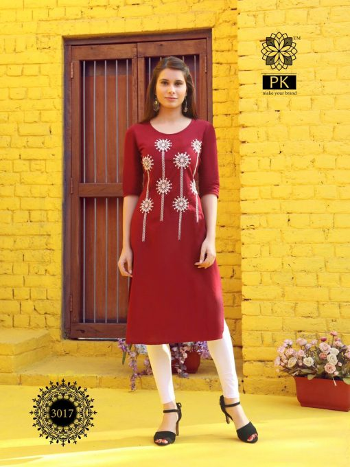 Pk Fashion Rainbow Vol 3 Kurti Wholesale Catalog 21 Pcs 19 510x680 - Pk Fashion Rainbow Vol 3 Kurti Wholesale Catalog 21 Pcs
