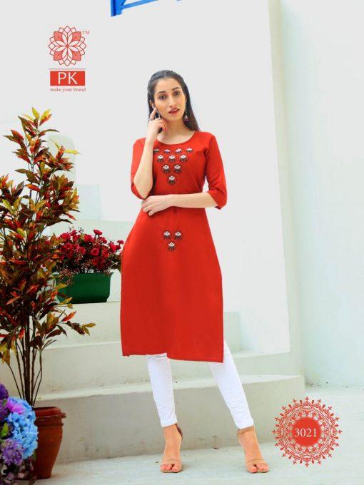 Pk Fashion Rainbow Vol 3 Kurti Wholesale Catalog 21 Pcs 21 510x680 - Pk Fashion Rainbow Vol 3 Kurti Wholesale Catalog 21 Pcs