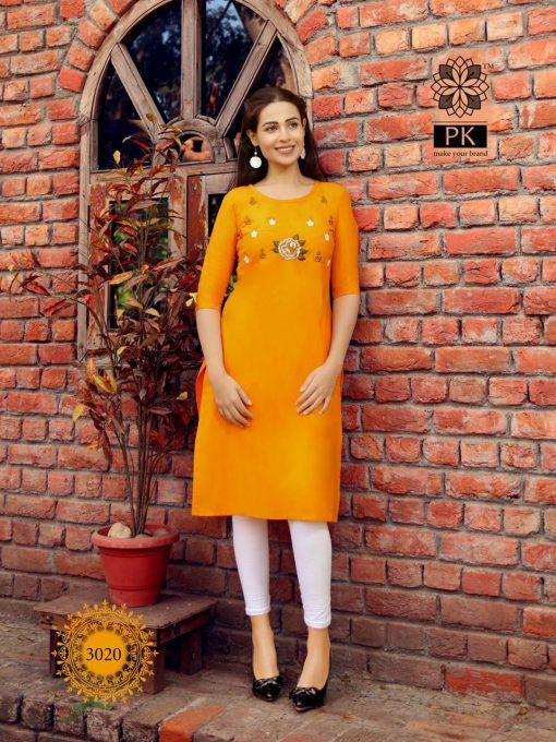 Pk Fashion Rainbow Vol 3 Kurti Wholesale Catalog 21 Pcs 22 510x680 - Pk Fashion Rainbow Vol 3 Kurti Wholesale Catalog 21 Pcs