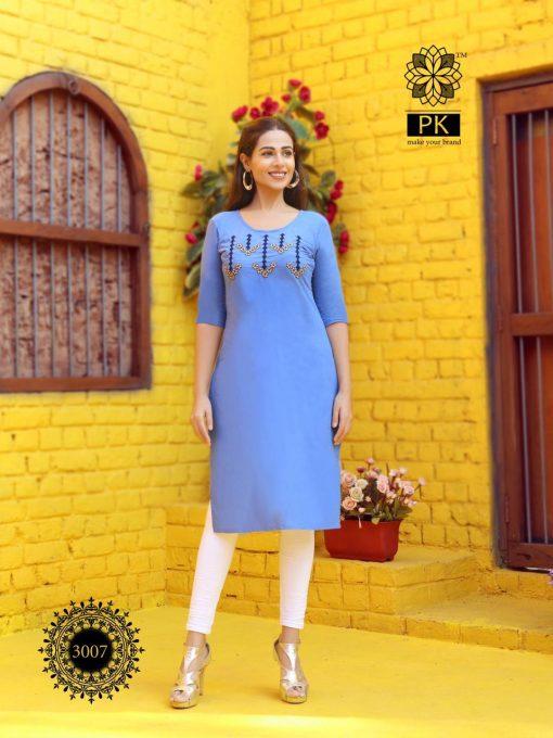 Pk Fashion Rainbow Vol 3 Kurti Wholesale Catalog 21 Pcs 9 510x680 - Pk Fashion Rainbow Vol 3 Kurti Wholesale Catalog 21 Pcs