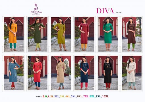 Poonam Designer Diva Vol 10 Kurti Wholesale Catalog 12 Pcs 13 510x360 - Poonam Designer Diva Vol 10 Kurti Wholesale Catalog 12 Pcs