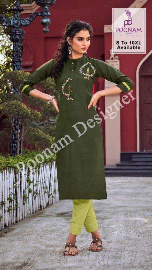Poonam Designer Diva Vol 10 Kurti Wholesale Catalog 12 Pcs 3 510x907 - Poonam Designer Diva Vol 10 Kurti Wholesale Catalog 12 Pcs