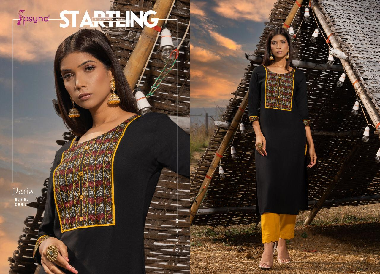 Psyna Paris Vol 2 Kurti Wholesale Catalog 8 Pcs 9 - Psyna Paris Vol 2 Kurti Wholesale Catalog 8 Pcs