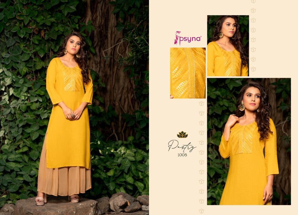 Psyna Pastry Kurti Wholesale Catalog 8 Pcs 10 - Psyna Pastry Kurti Wholesale Catalog 8 Pcs