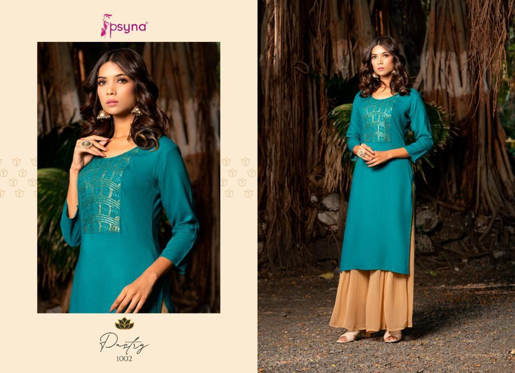 Psyna Pastry Kurti Wholesale Catalog 8 Pcs 3 - Psyna Pastry Kurti Wholesale Catalog 8 Pcs