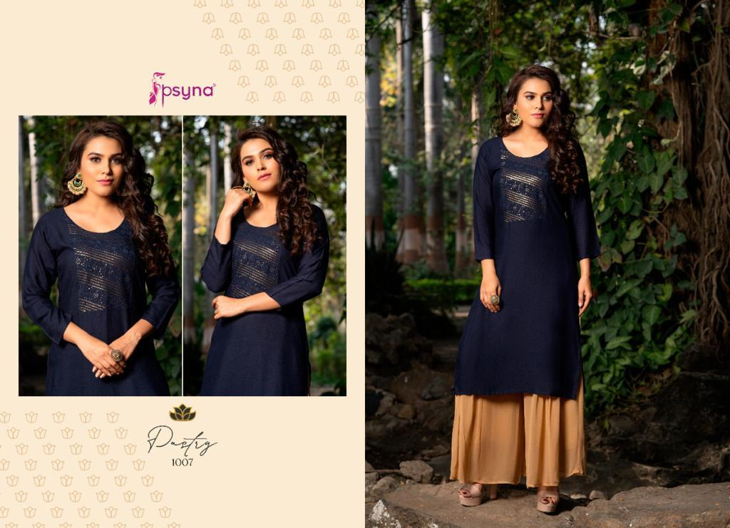Psyna Pastry Kurti Wholesale Catalog 8 Pcs 9 - Psyna Pastry Kurti Wholesale Catalog 8 Pcs