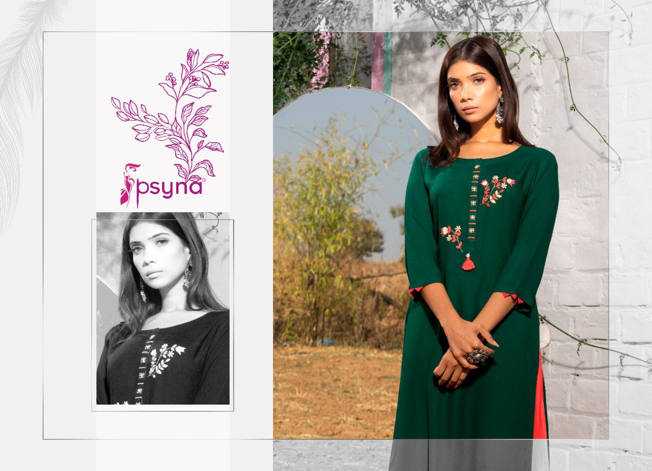 Psyna Poshak Vol 9 Kurti Wholesale Catalog 10 Pcs 1 - Psyna Poshak Vol 9 Kurti Wholesale Catalog 10 Pcs