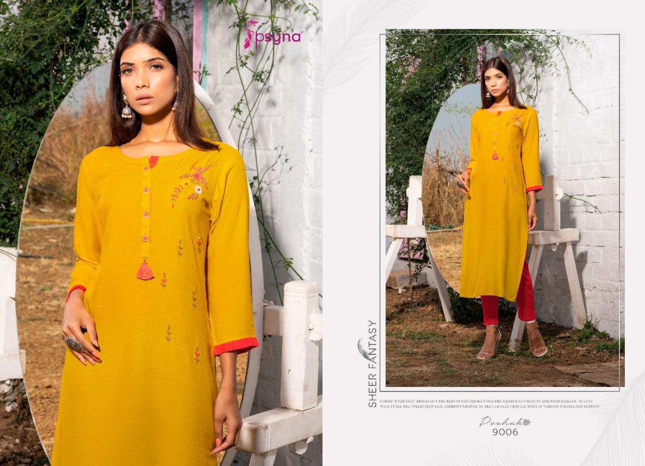 Psyna Poshak Vol 9 Kurti Wholesale Catalog 10 Pcs 13 - Psyna Poshak Vol 9 Kurti Wholesale Catalog 10 Pcs