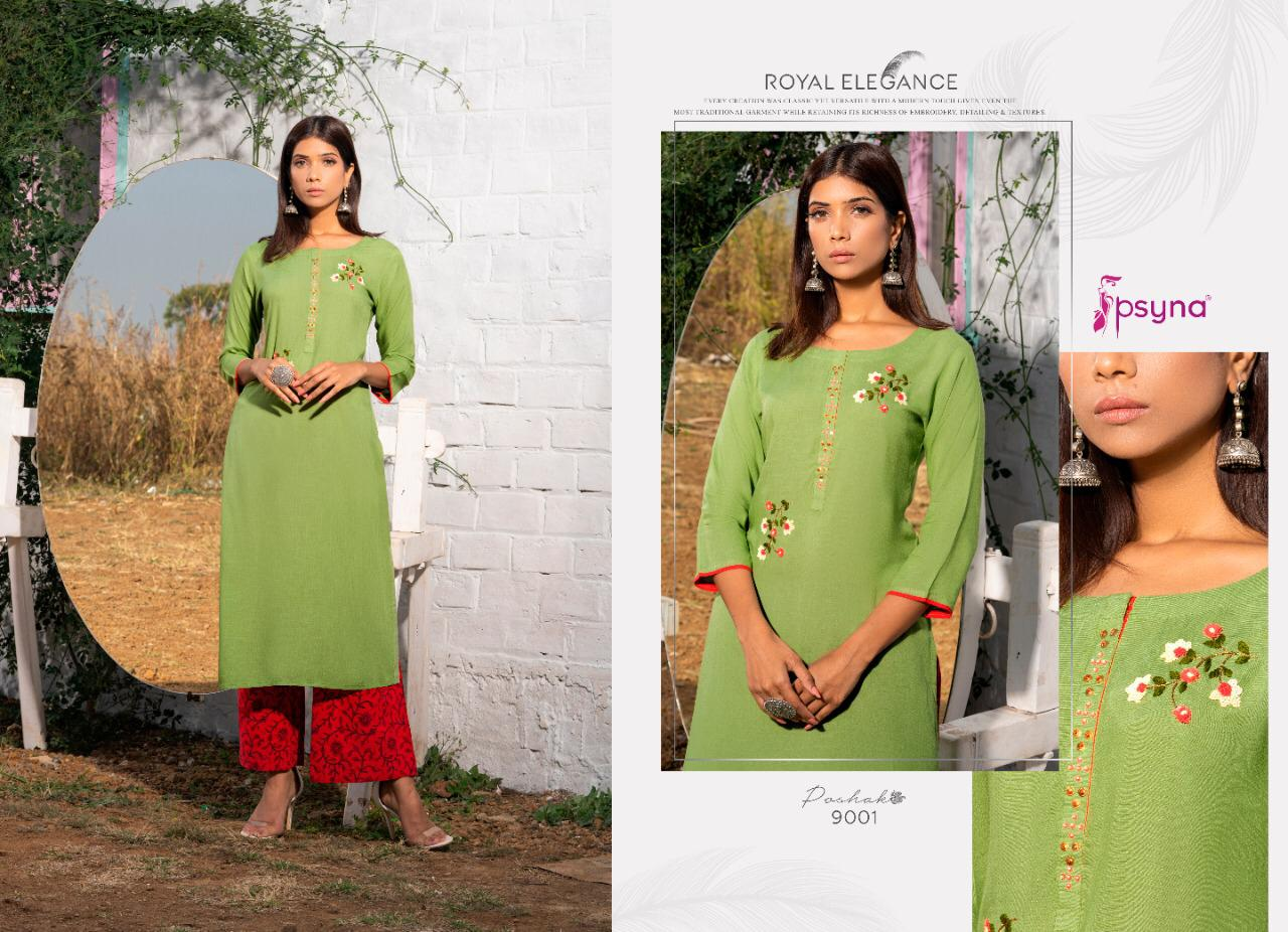 Psyna Poshak Vol 9 Kurti Wholesale Catalog 10 Pcs 2 - Psyna Poshak Vol 9 Kurti Wholesale Catalog 10 Pcs