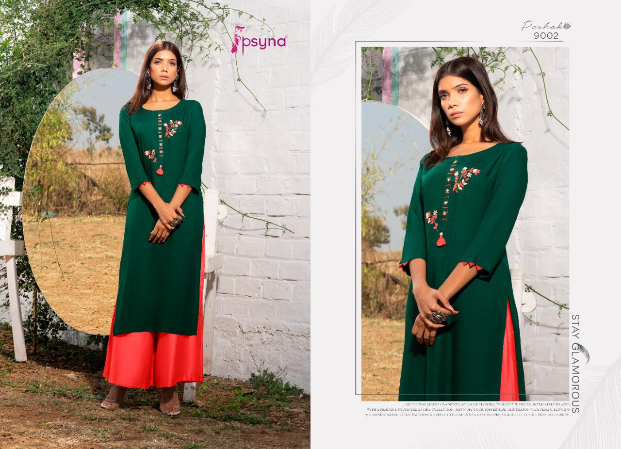 Psyna Poshak Vol 9 Kurti Wholesale Catalog 10 Pcs 3 - Psyna Poshak Vol 9 Kurti Wholesale Catalog 10 Pcs