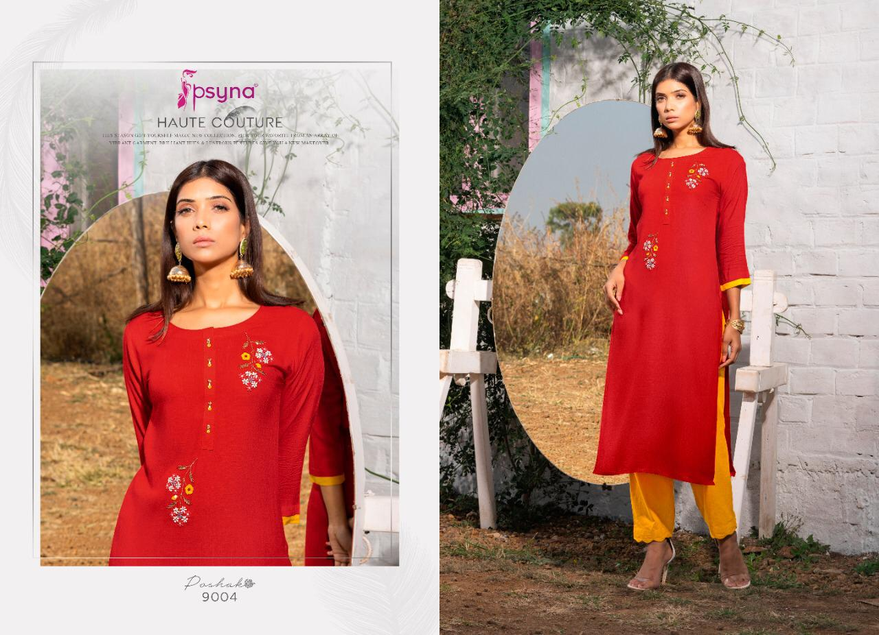 Psyna Poshak Vol 9 Kurti Wholesale Catalog 10 Pcs 4 - Psyna Poshak Vol 9 Kurti Wholesale Catalog 10 Pcs