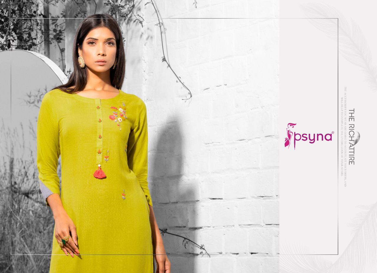 Psyna Poshak Vol 9 Kurti Wholesale Catalog 10 Pcs 6 - Psyna Poshak Vol 9 Kurti Wholesale Catalog 10 Pcs