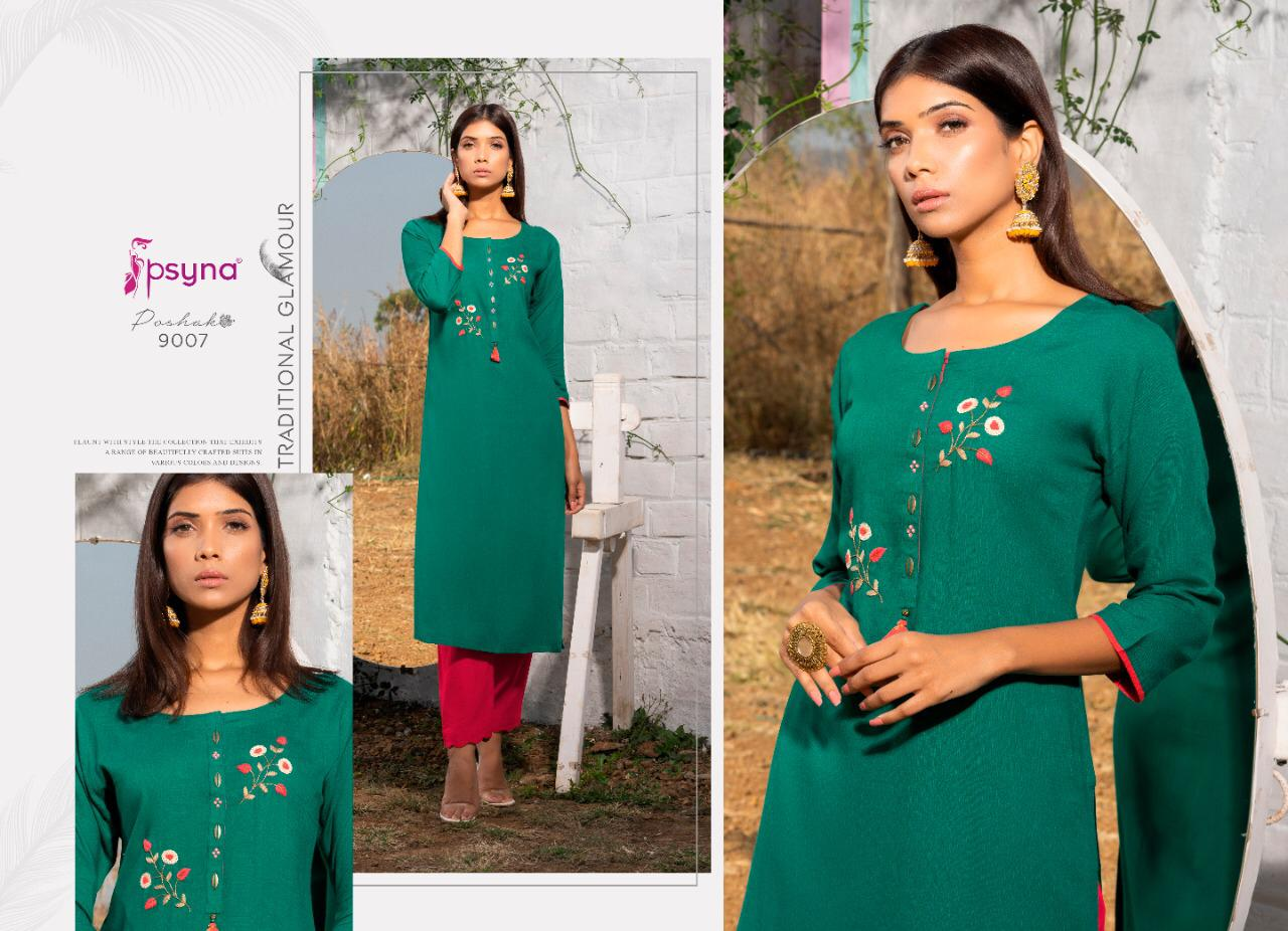 Psyna Poshak Vol 9 Kurti Wholesale Catalog 10 Pcs 7 - Psyna Poshak Vol 9 Kurti Wholesale Catalog 10 Pcs