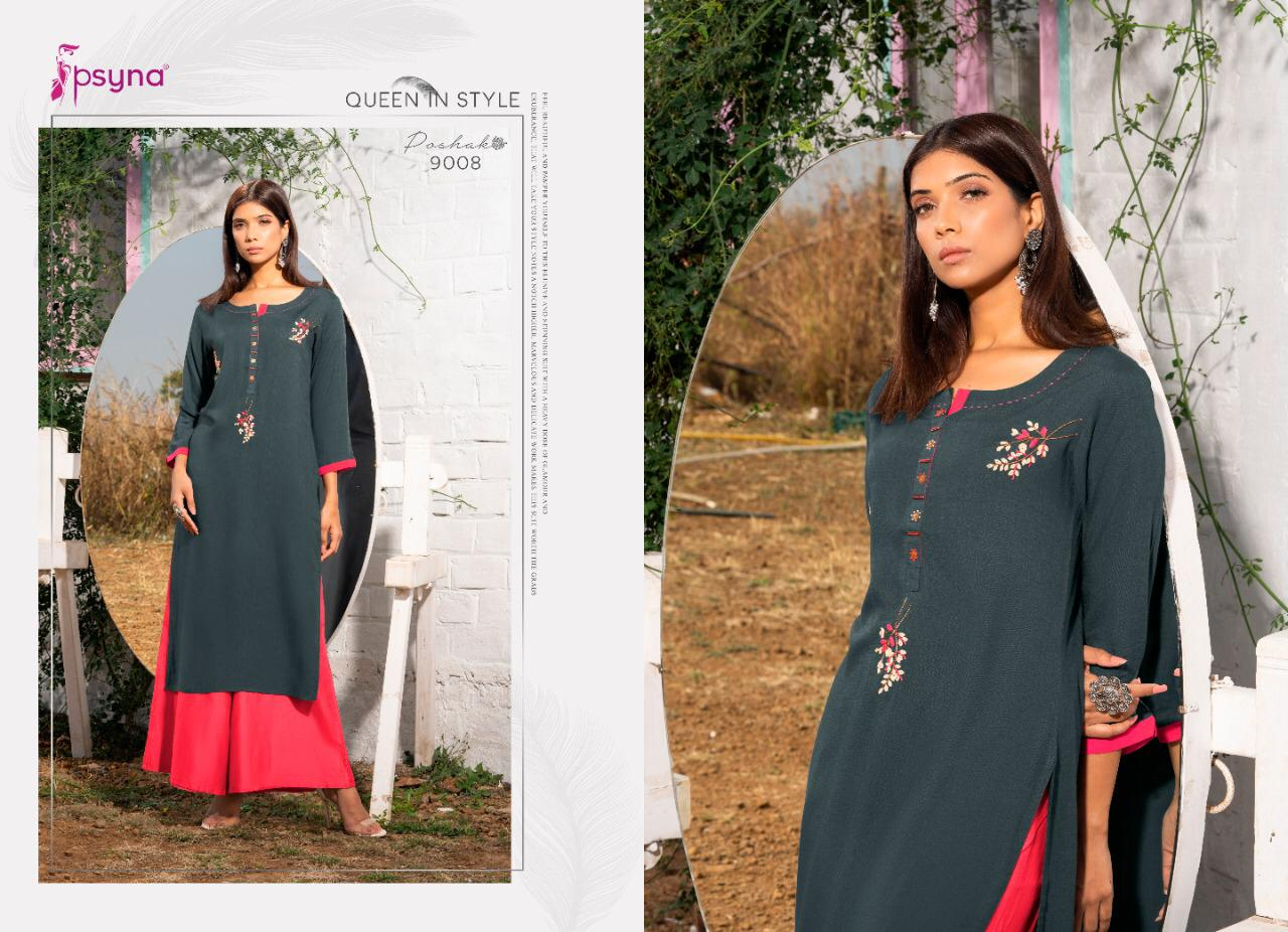 Psyna Poshak Vol 9 Kurti Wholesale Catalog 10 Pcs 8 - Psyna Poshak Vol 9 Kurti Wholesale Catalog 10 Pcs