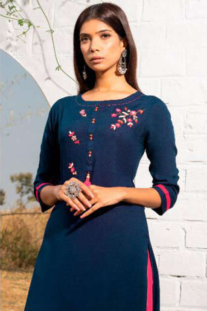 Psyna Poshak Vol 9 Kurti Wholesale Catalog 10 Pcs