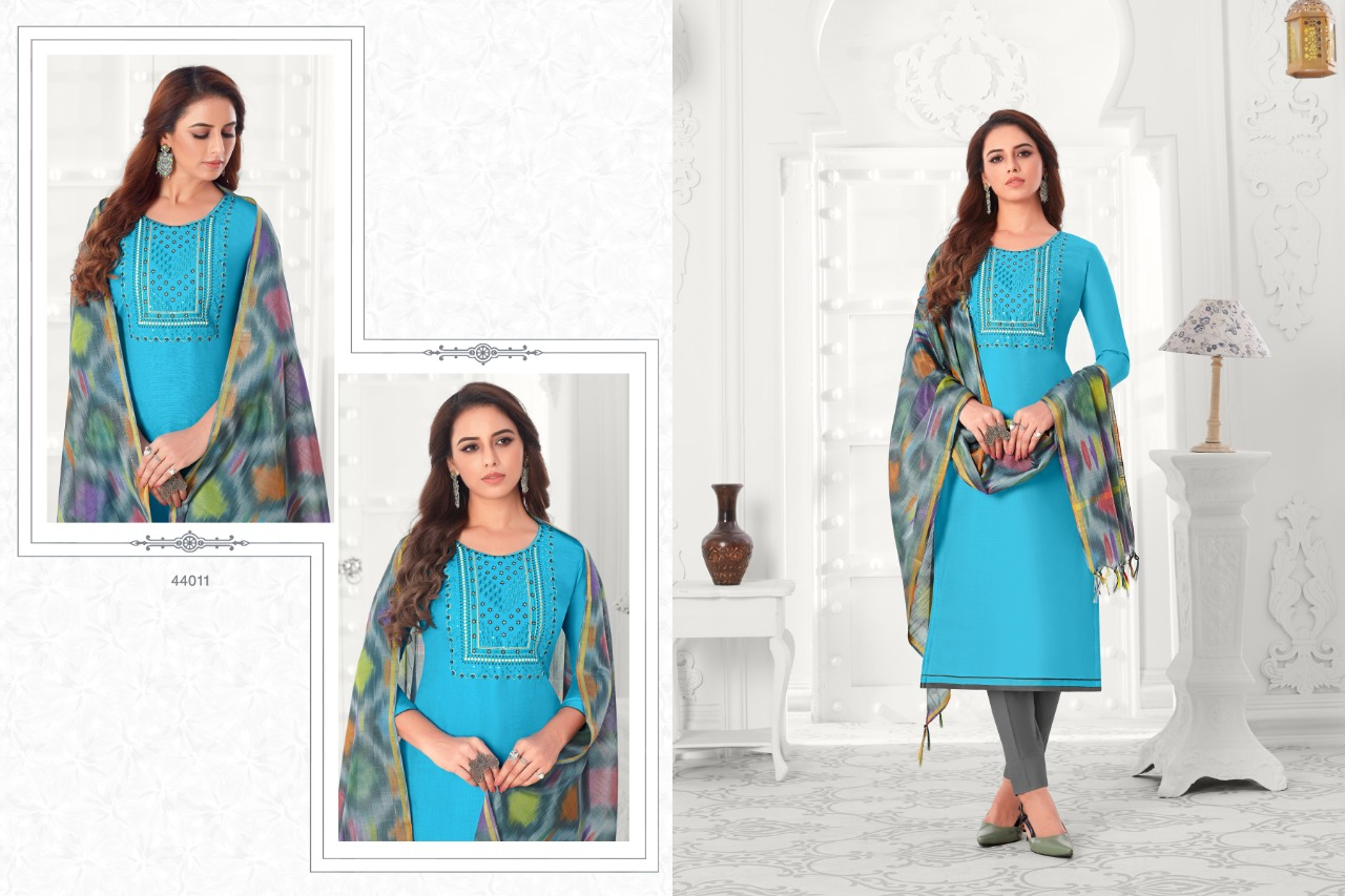 Raghav Colourful Vol 5 Salwar Suit Wholesale Catalog 12 Pcs 10 - Raghav Colourful Vol 5 Salwar Suit Wholesale Catalog 12 Pcs