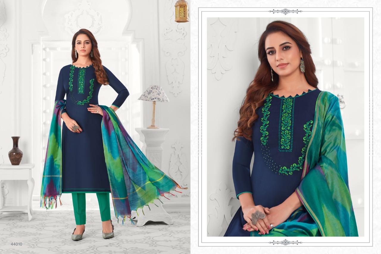 Raghav Colourful Vol 5 Salwar Suit Wholesale Catalog 12 Pcs 12 - Raghav Colourful Vol 5 Salwar Suit Wholesale Catalog 12 Pcs
