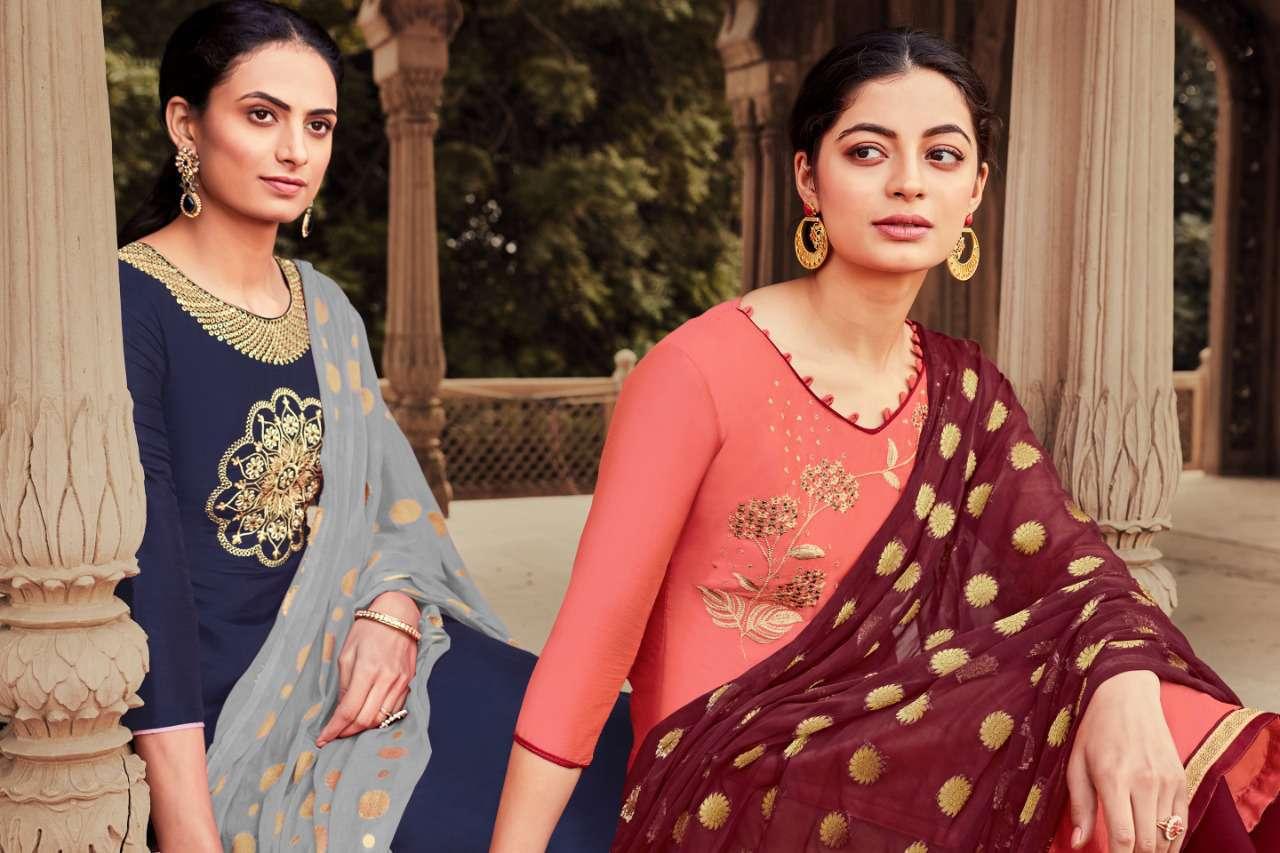 Raghav Zarina Vol 2 Salwar Suit Wholesale Catalog 12 Pcs 11 - Raghav Zarina Vol 2 Salwar Suit Wholesale Catalog 12 Pcs