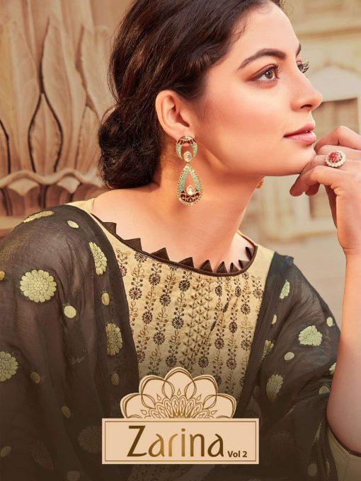Raghav Zarina Vol 2 Salwar Suit Wholesale Catalog 12 Pcs 14 510x680 - Raghav Zarina Vol 2 Salwar Suit Wholesale Catalog 12 Pcs