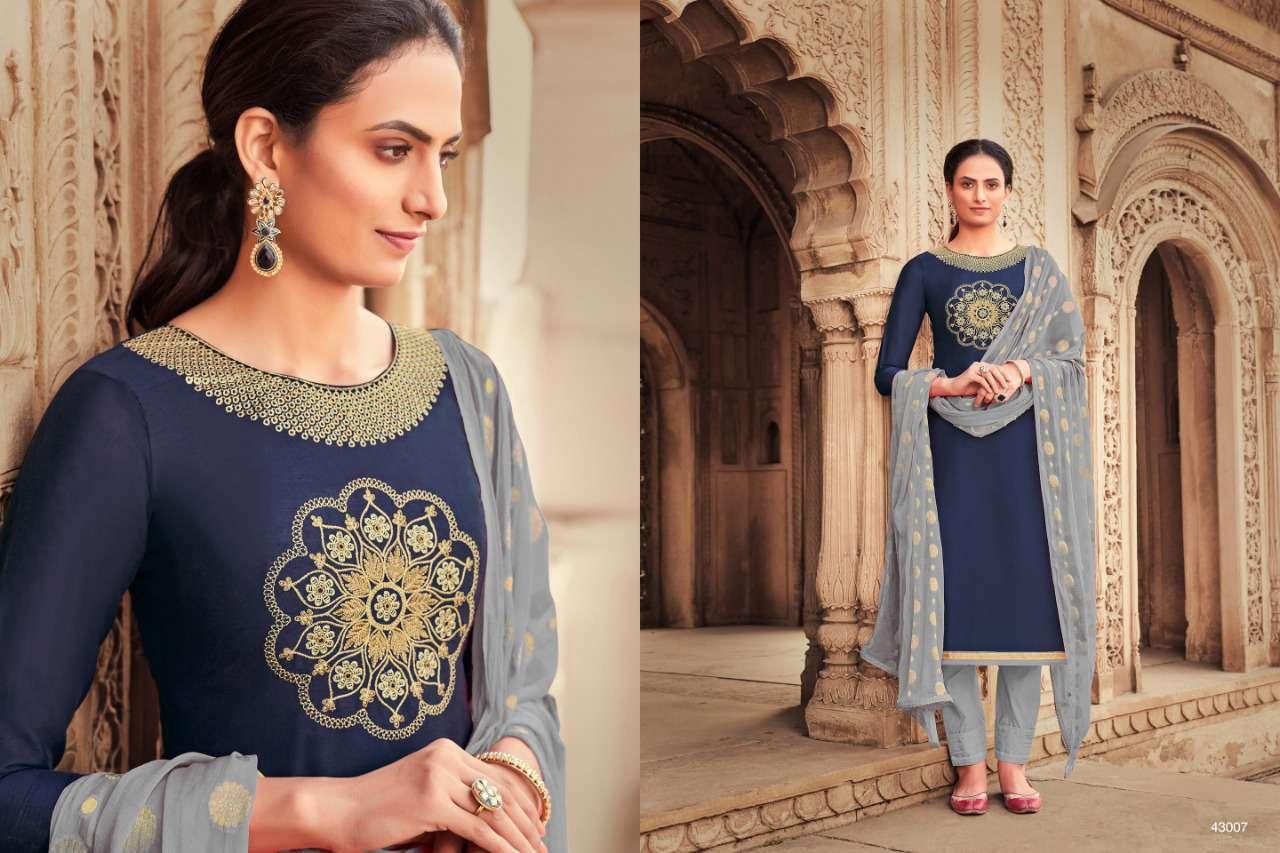 Raghav Zarina Vol 2 Salwar Suit Wholesale Catalog 12 Pcs 2 - Raghav Zarina Vol 2 Salwar Suit Wholesale Catalog 12 Pcs