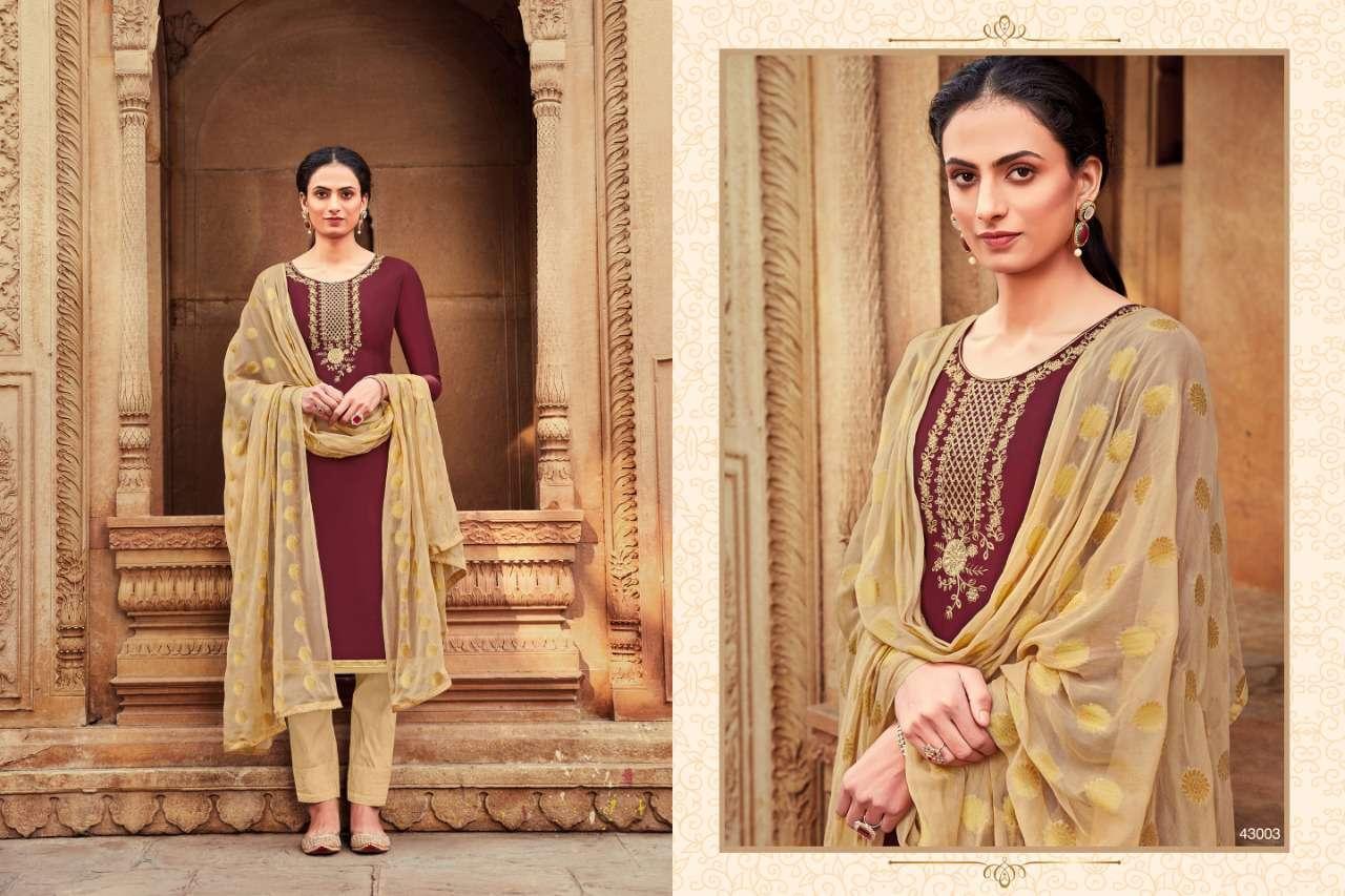Raghav Zarina Vol 2 Salwar Suit Wholesale Catalog 12 Pcs 6 - Raghav Zarina Vol 2 Salwar Suit Wholesale Catalog 12 Pcs