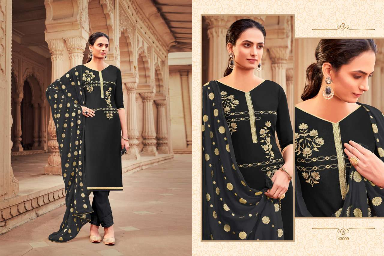 Raghav Zarina Vol 2 Salwar Suit Wholesale Catalog 12 Pcs 8 - Raghav Zarina Vol 2 Salwar Suit Wholesale Catalog 12 Pcs
