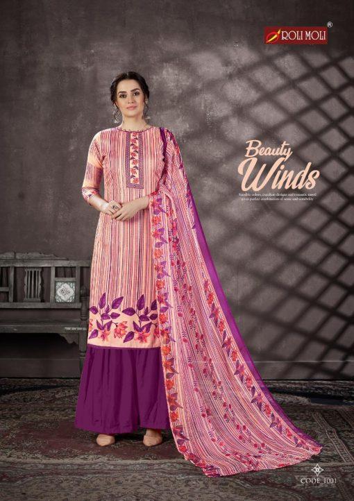 Roli Moli Mallika Salwar Suit Wholesale Catalog 10 Pcs 1 510x722 - Roli Moli Mallika Salwar Suit Wholesale Catalog 10 Pcs