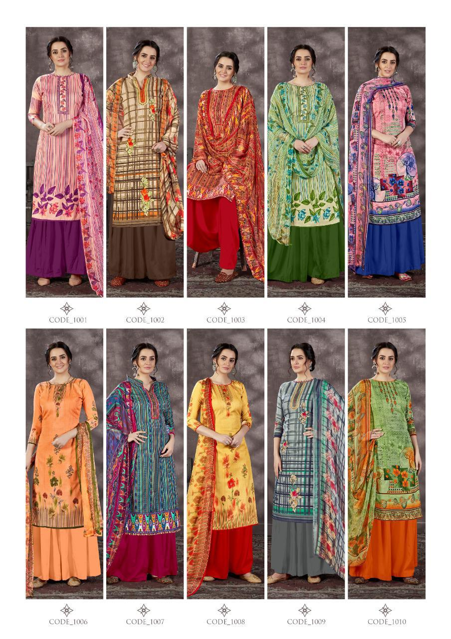 Roli Moli Mallika Salwar Suit Wholesale Catalog 10 Pcs 15 - Roli Moli Mallika Salwar Suit Wholesale Catalog 10 Pcs