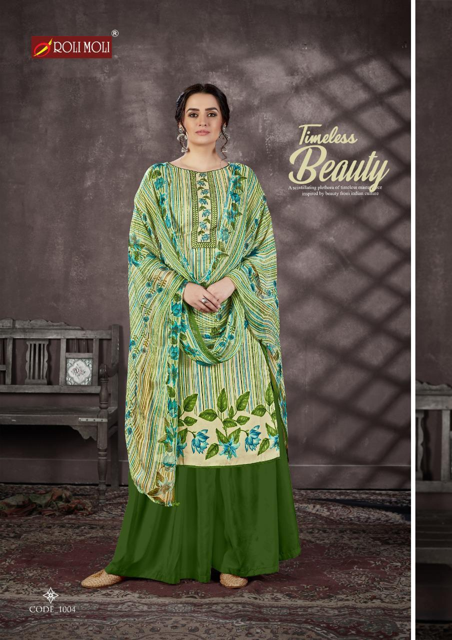 Roli Moli Mallika Salwar Suit Wholesale Catalog 10 Pcs 5 - Roli Moli Mallika Salwar Suit Wholesale Catalog 10 Pcs
