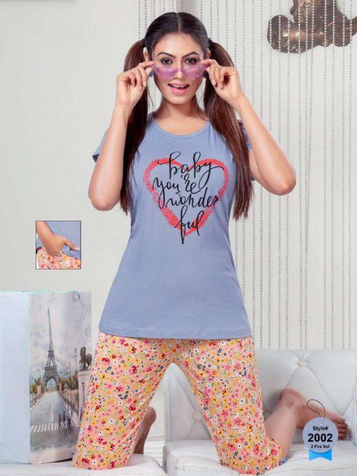 SF Night Wear Vol 65 Wholesale Catalog 6 Pcs 4 1 510x680 - SF Night Wear Vol 65 Wholesale Catalog 6 Pcs