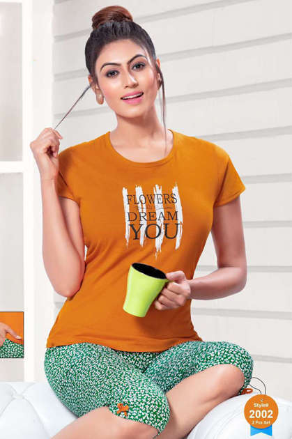 SF Night Wear Vol 65 Wholesale Catalog 6 Pcs