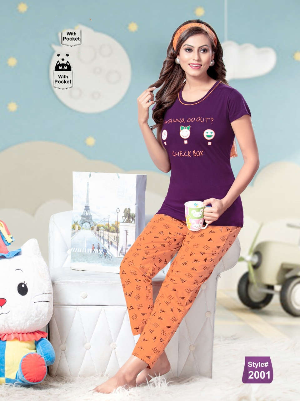 SF Premium Night Wear Vol 63 Wholesale Catalog 6 Pcs 2 1 - SF Premium Night Wear Vol 63 Wholesale Catalog 6 Pcs
