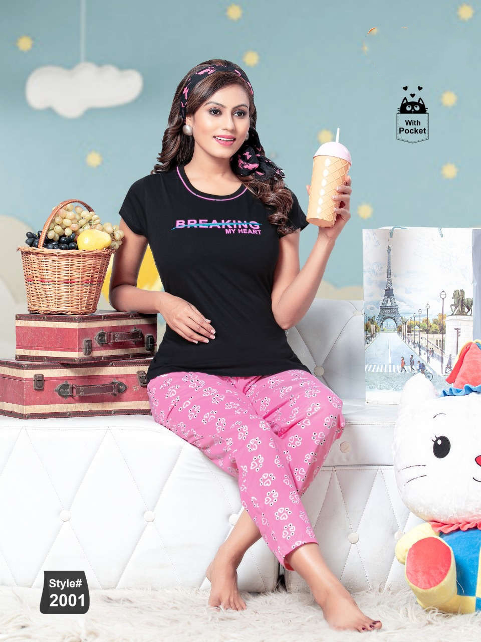 SF Premium Night Wear Vol 63 Wholesale Catalog 6 Pcs 3 1 - SF Premium Night Wear Vol 63 Wholesale Catalog 6 Pcs