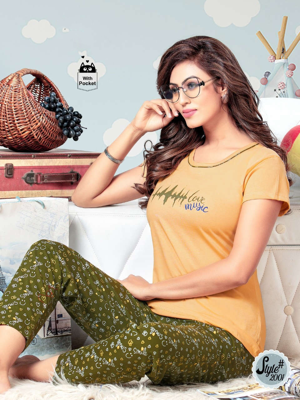 SF Premium Night Wear Vol 63 Wholesale Catalog 6 Pcs 4 1 - SF Premium Night Wear Vol 63 Wholesale Catalog 6 Pcs